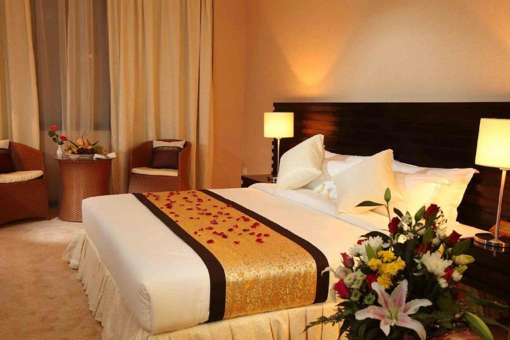 Un ou plusieurs lits dans un hébergement de l'établissement Savan Resorts