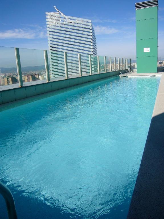 Barcelona Fira Vina Apartment foto