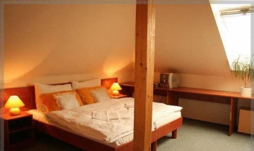 d7777c429 Postel nebo postele na pokoji v ubytování Hotel ...
