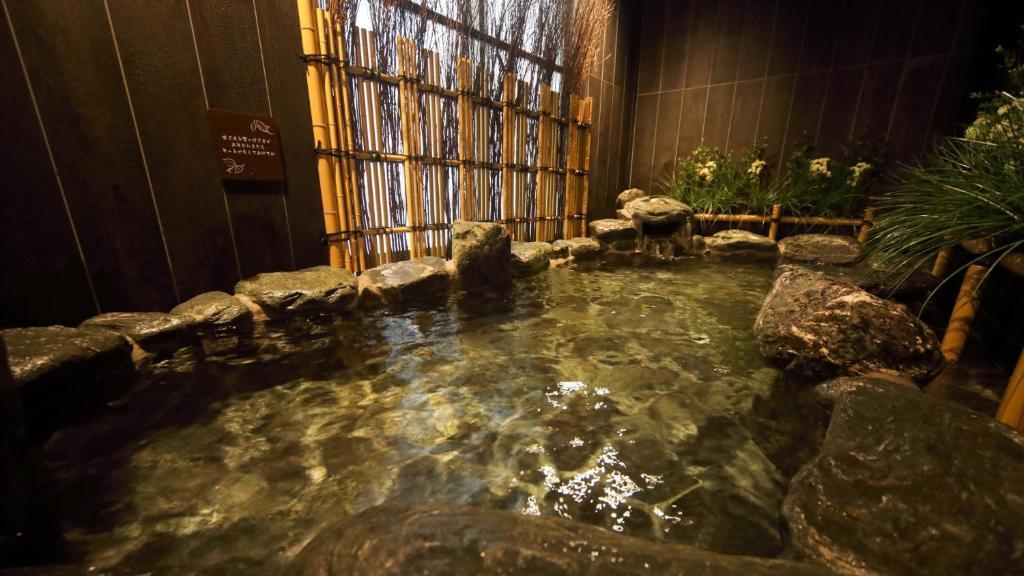ポイント2.大阪の中心でお風呂にゆっくり浸かれる