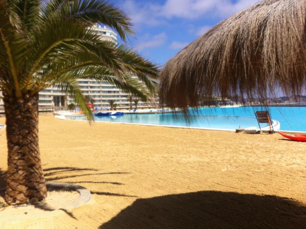 Bazén v ubytovaní Departamento San Alfonso del Mar alebo v jeho blízkosti