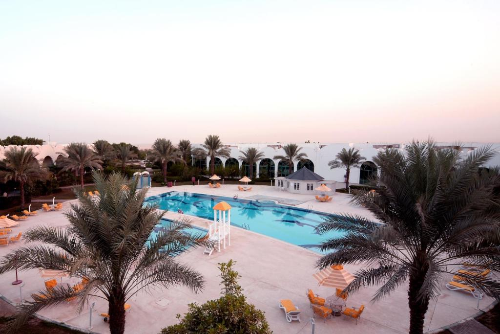 A view of the pool at Tulip Inn Al Sharia or nearby