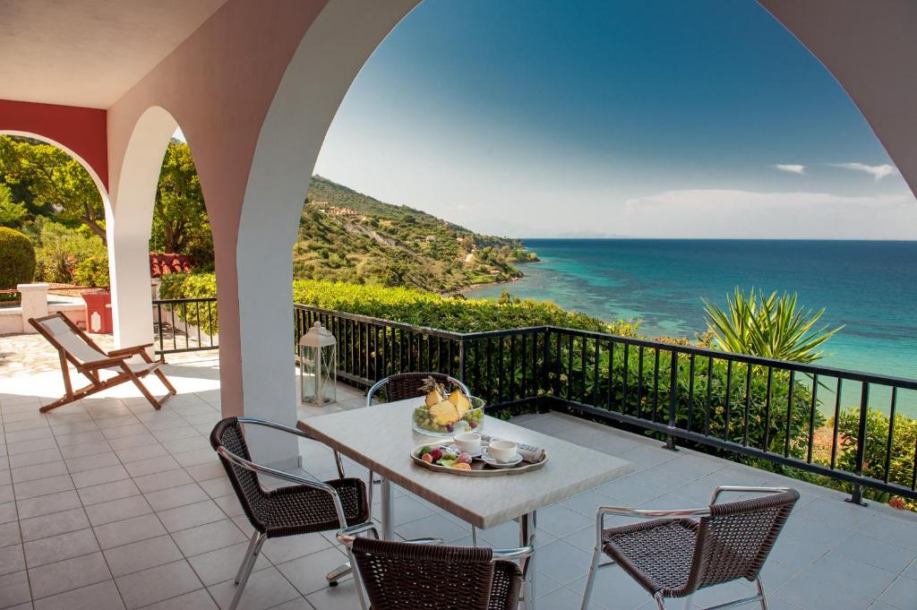 A balcony or terrace at Villa Levante