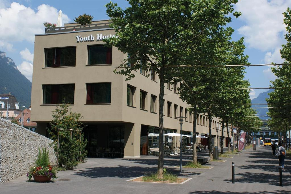 The building where the hostel is located