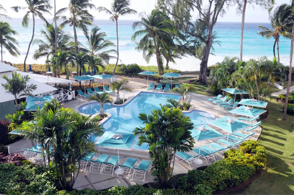 A view of the pool at Turtle Beach by Elegant Hotels All Suites All Inclusive or nearby