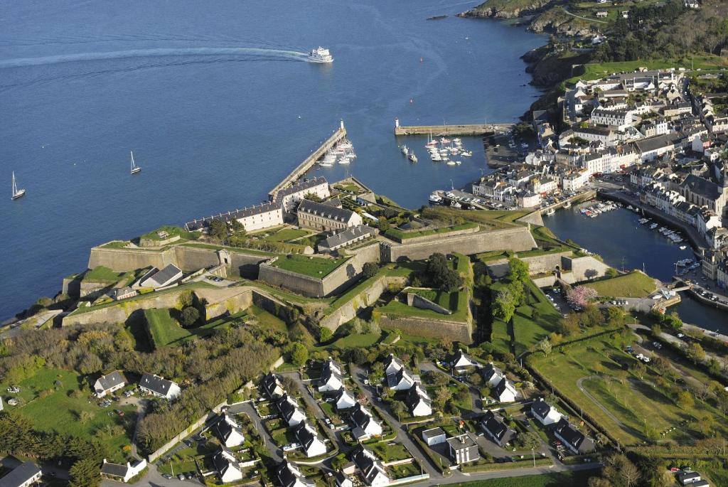 A bird's-eye view of Citadelle Vauban