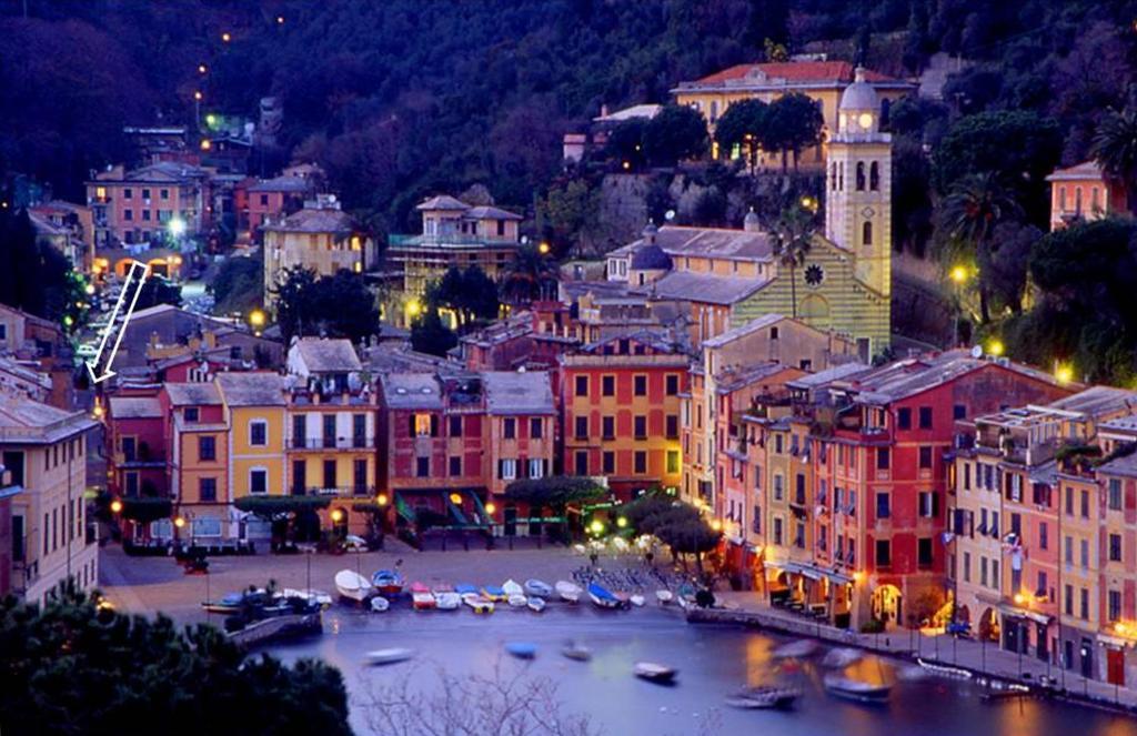 Uma vista aérea de Appartamento Portofino
