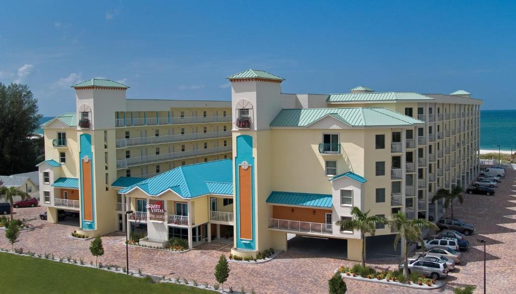 Condo Hotel Sunset Vistas Beachfront Suites St Pete Beach Fl