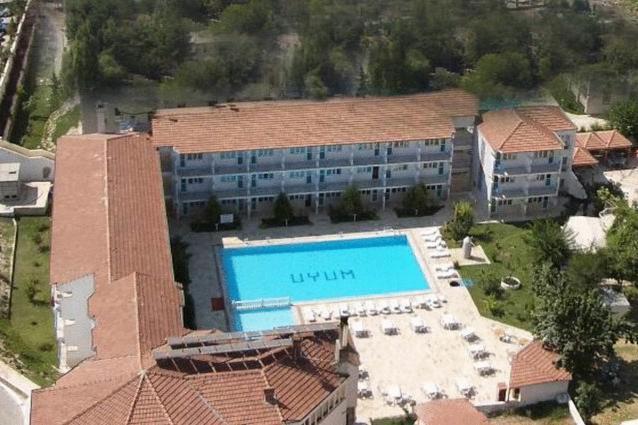 Uyum Hotel iz ptičje perspektive