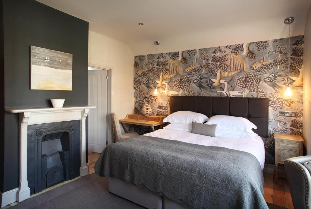 Uma cama ou camas num quarto em No 33, HUNSTANTON