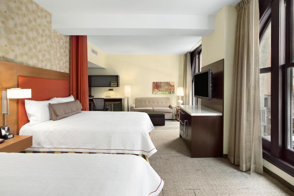 Slaapgedeelte hotel