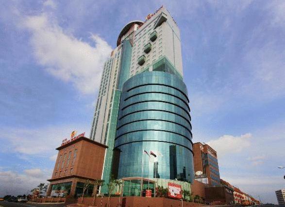 Bangunan di mana terletaknya hotel