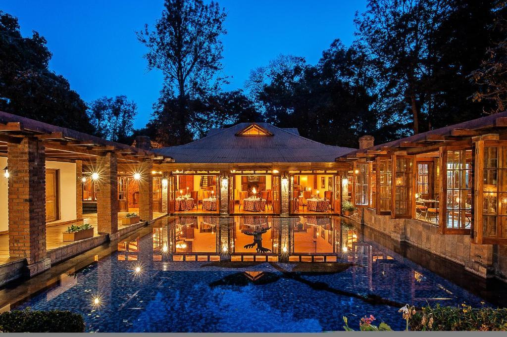 The swimming pool at or near Arusha Coffee Lodge