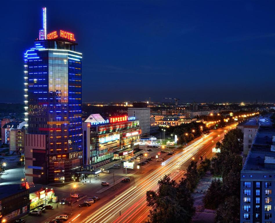 Gorskiy City Hotel (Россия Новосибирск) - Booking.com