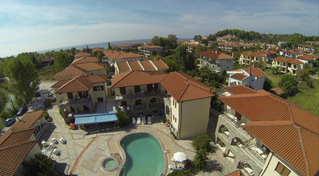 A bird's-eye view of Hotel Argo