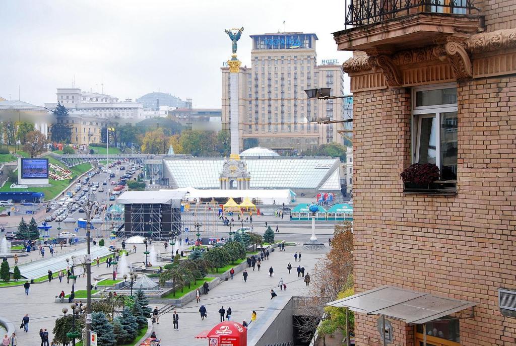 Sofievskaya Square - the heart of Kiev