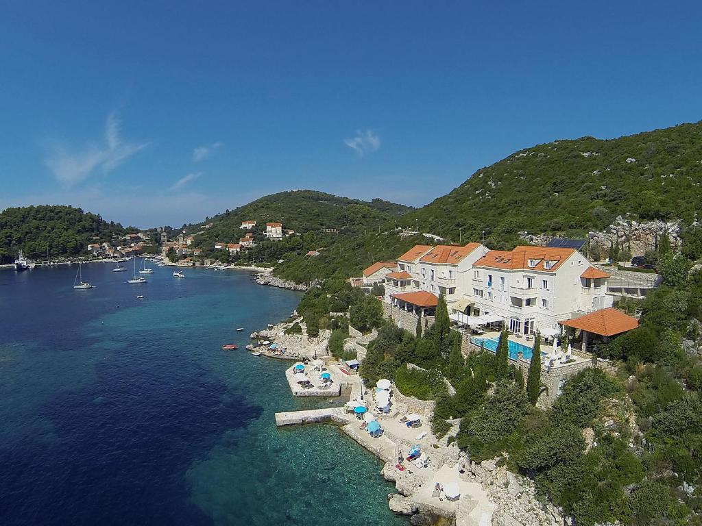 A bird's-eye view of Hotel Bozica Dubrovnik Islands