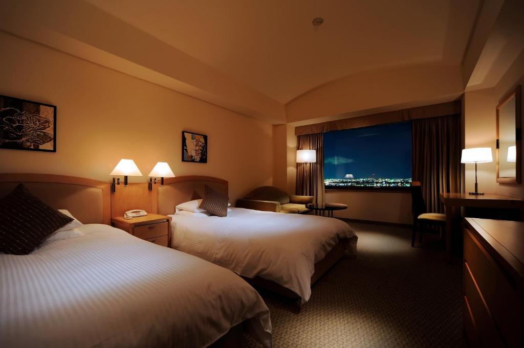 ポイント1.富士山も夜景もふたりじめできる客室