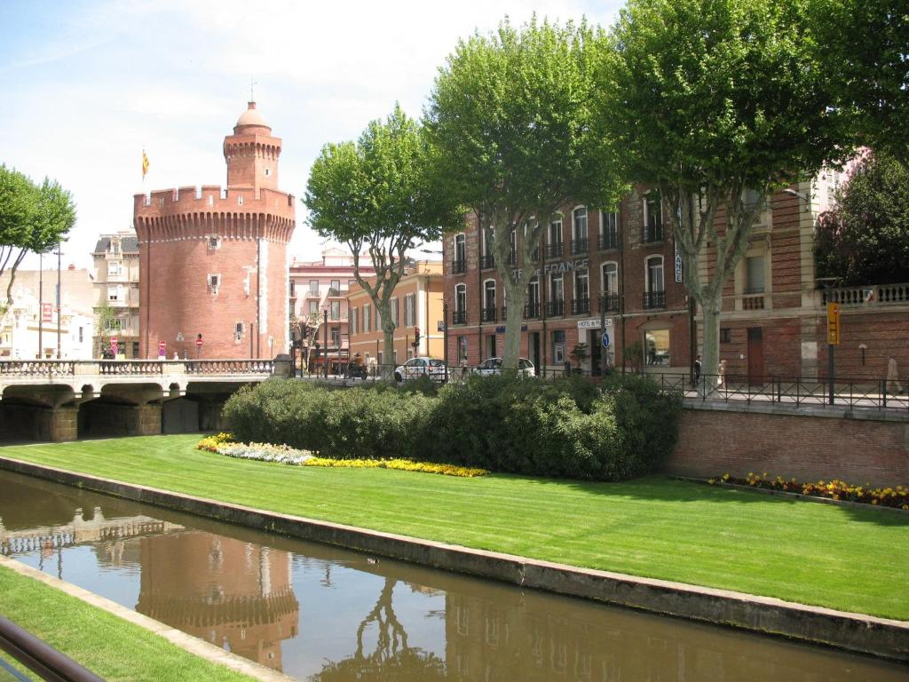 Perpignan city centre map with sightseeing |Perpignan France Map