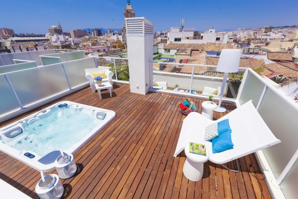 Apartment spain select calle nueva premium malaga for Hotel malaga premium