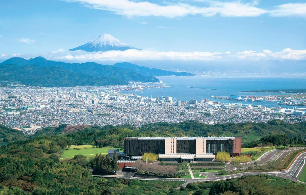 A bird's-eye view of Nippondaira Hotel