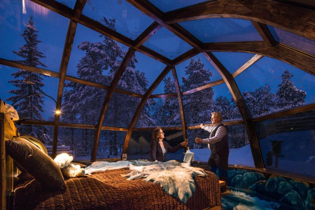 h tel lapland igloo finlande ranua. Black Bedroom Furniture Sets. Home Design Ideas