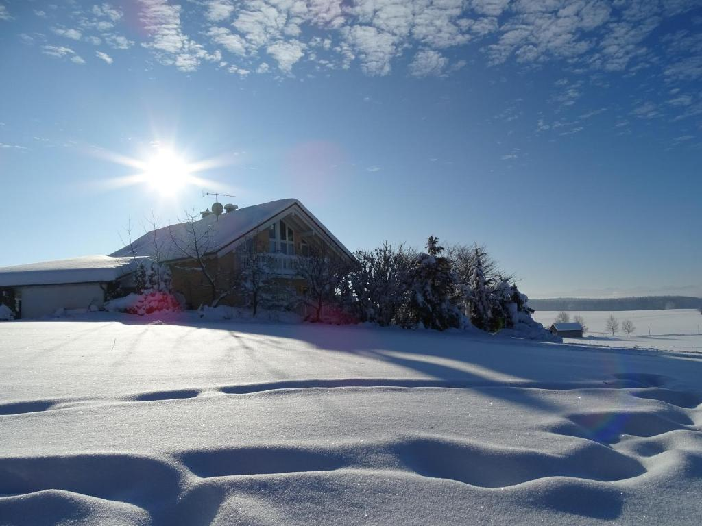 Ferienwohnung Findus im Winter