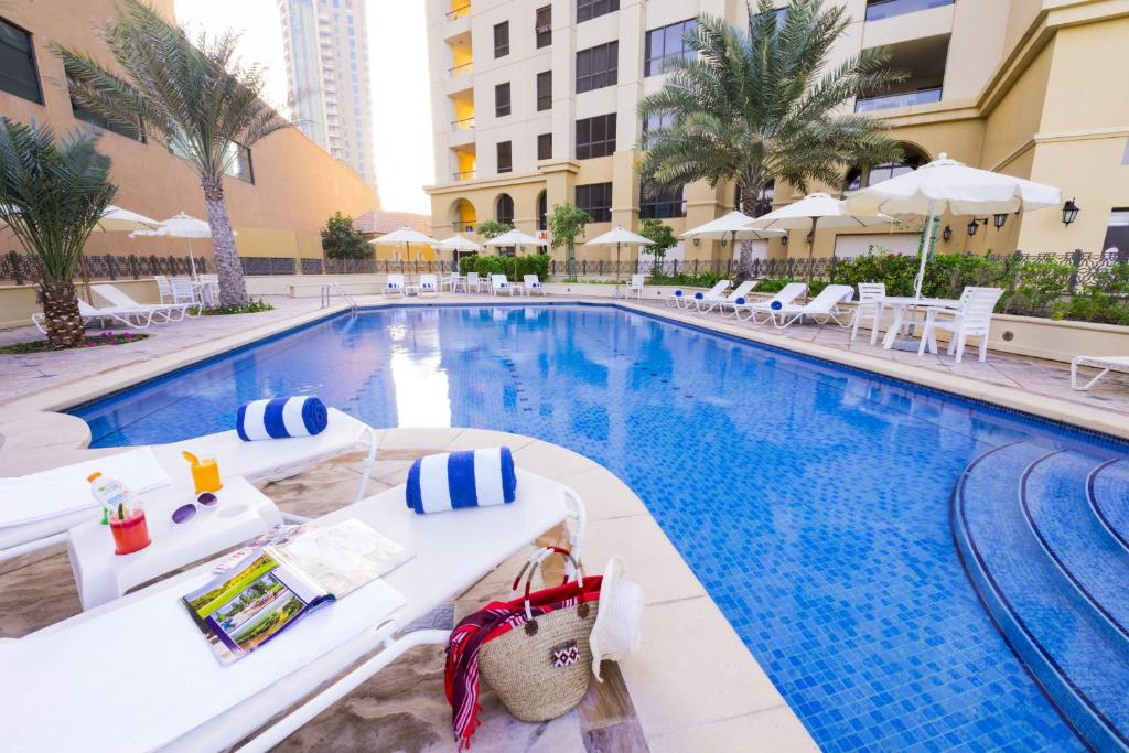 The swimming pool at or near Roda Amwaj Suites Jumeirah Beach Residence