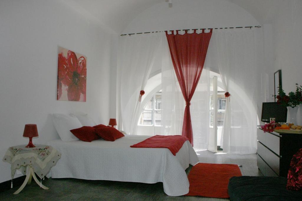 Hotel Residenza Nicola Amoreにあるベッド