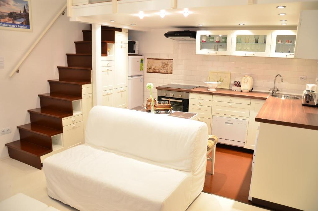 A kitchen or kitchenette at Apartment Jeanette