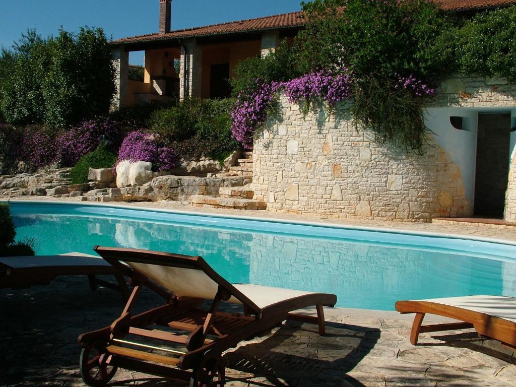 Het zwembad bij of vlak bij Maglioferro Residence
