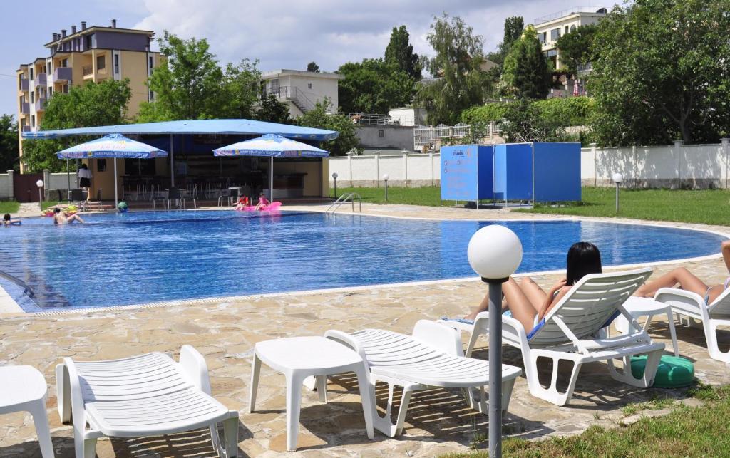 The swimming pool at or near Strandzha Hotel