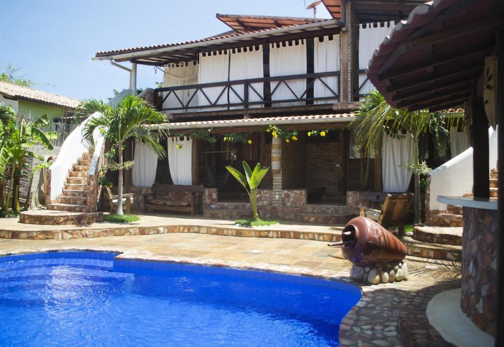 The swimming pool at or near B&B Girassol