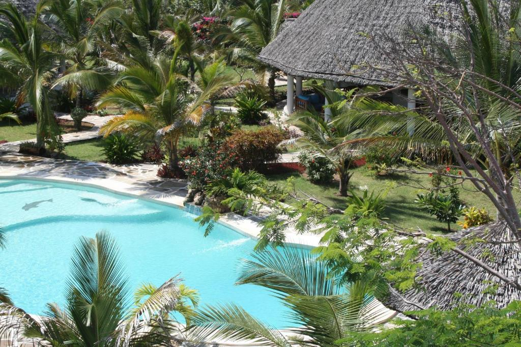 A view of the pool at Watamu Village or nearby