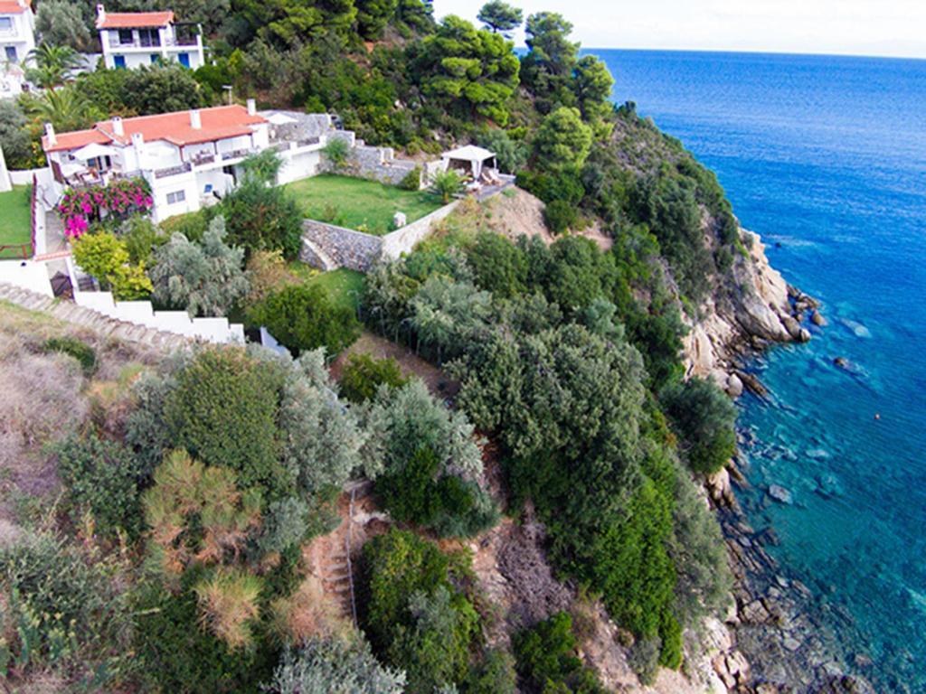Άποψη από ψηλά του Villa Bienvenue