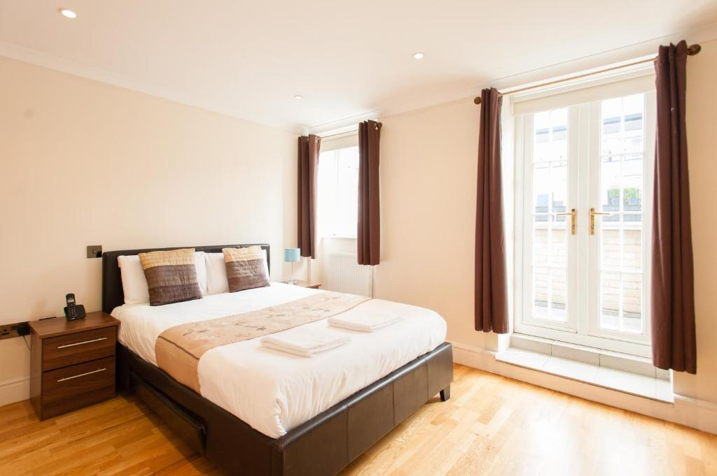A room at London Serviced Apartments