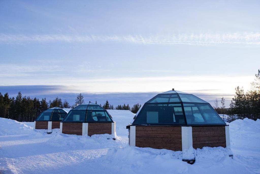 Igloos In The Arctic Hotel Arctic Glass Igl...