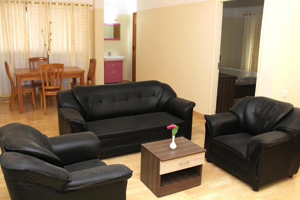 Tayas Service Apartments Trivandrum India Rooms