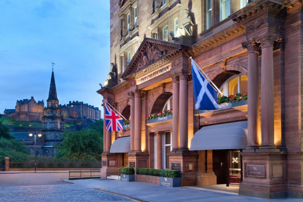 The facade or entrance of Waldorf Astoria Edinburgh - The Caledonian