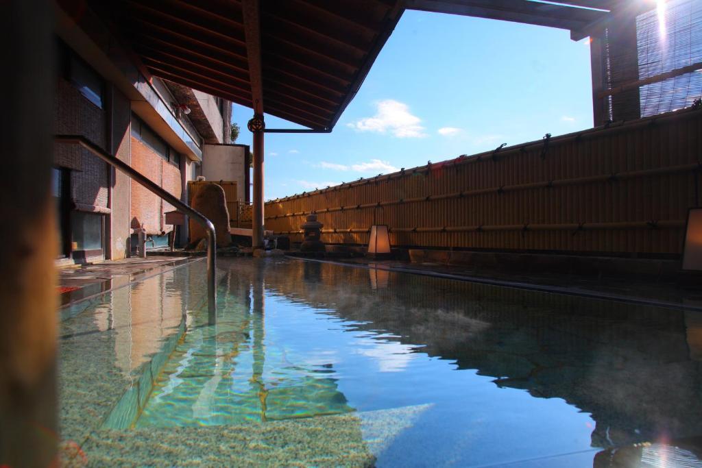 ポイント1.掛け流しの良質な温泉