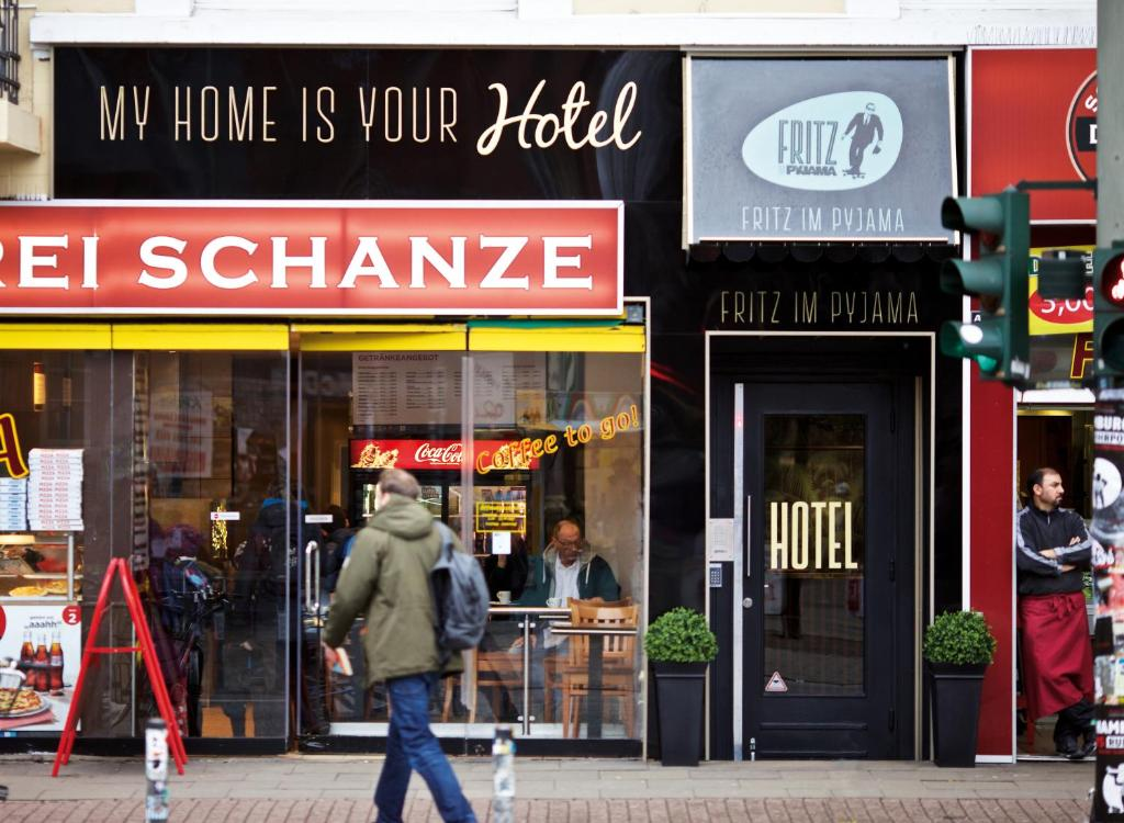 Hotel Fritz Im Pyjama Deutschland Hamburg Bookingcom