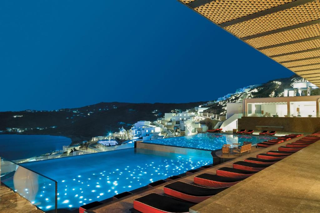 A view of the pool at Myconian Avaton - Design Hotels or nearby