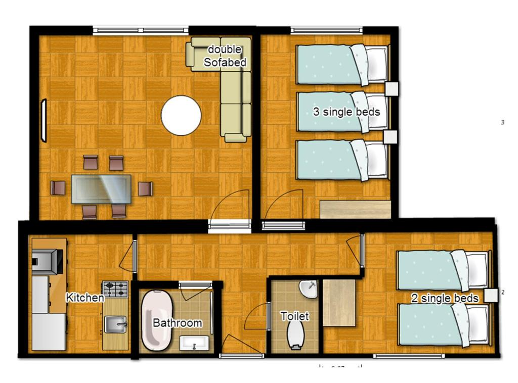apartmenthouse simple and offers this floor convenient apartment plans two chase easy bedroom is streamlined as house it plan summit smiuchin