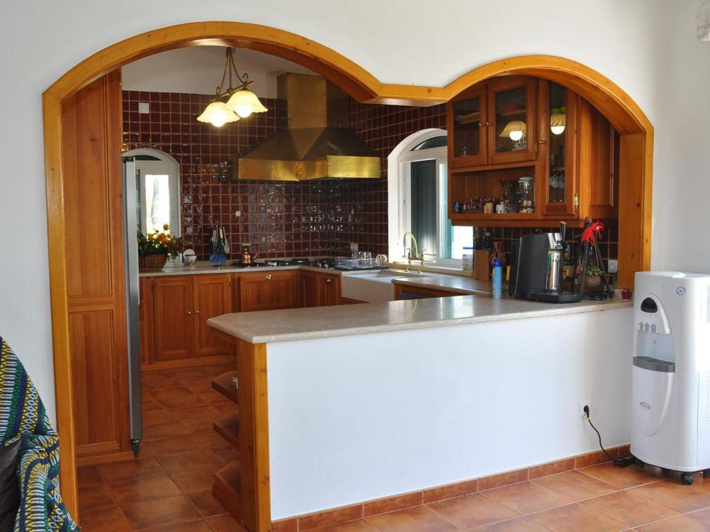 A kitchen or kitchenette at The Camp