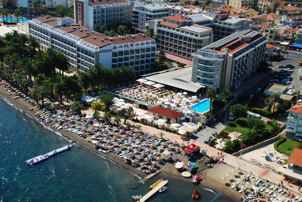 A bird's-eye view of Pasa Beach Hotel