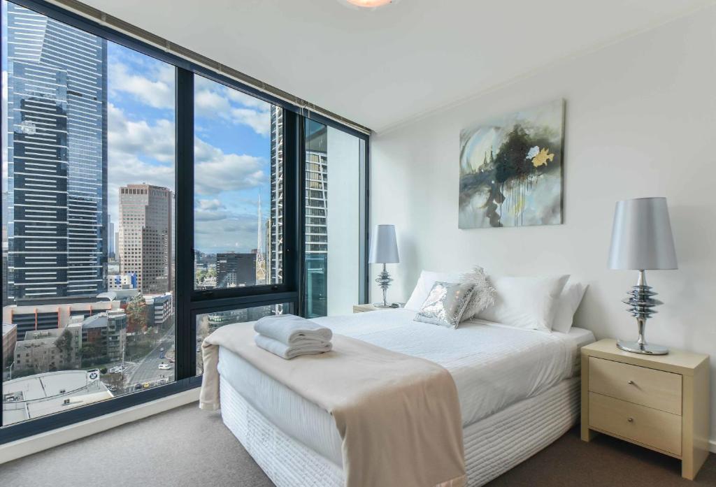 Cityviews Bedroom Apartment Melbourne Australia Booking Com