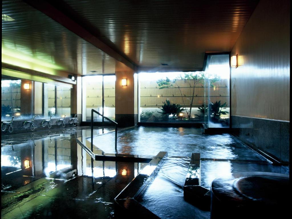 ポイント2.貴重な自家源泉で入れる温泉!