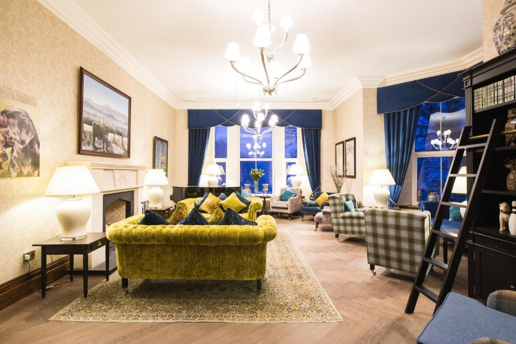 Muckrach Country House Hotel Grantown On Spey UK Bookingcom - Country house hotel interiors