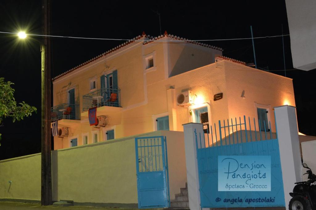 Остров Спетсес квартира дом