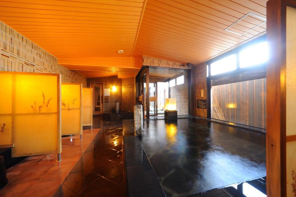ポイント1.ホテルで楽しめる天然温泉